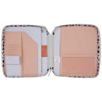 Pastel Leopard Print Happy Planner Case