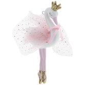 Swan Ballerina Ornament