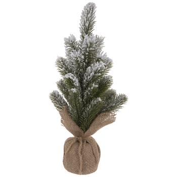 Glitter Flocked Christmas Tree