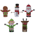 Christmas Paper Roll Character Kit