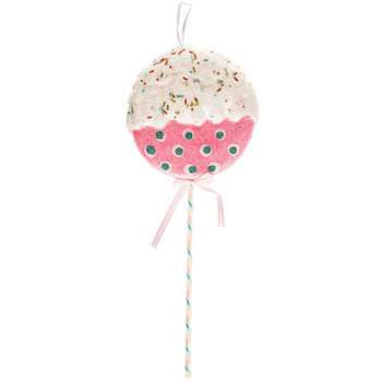 Polka Dot Sprinkle Lollipop Pick