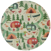 Campground Plate