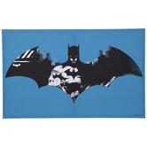 Batman Logo Montage Canvas Wall Decor