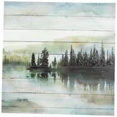 Lake Scene Canvas Wall Decor