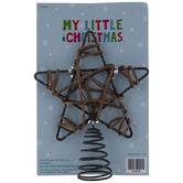 Wire Star Mini Tree Topper