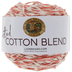 Coral Lion Brand Twisted Cotton Blend Yarn