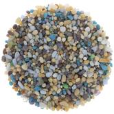 White Mix Glass Mosaic Pebbles
