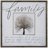Family Like Branches Wood Wall Decor