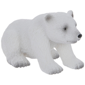 Sitting Polar Bear Cub
