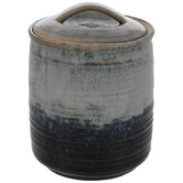 Two-Tone Patina Canister
