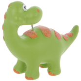 Green Brontosaurus Ornament
