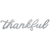 Thankful Galvanized Metal Decor
