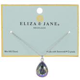Paradise Teardrop Crystal Necklace