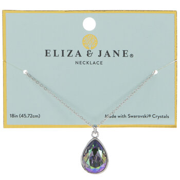 Paradise Teardrop Crystal Necklace