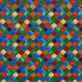 Festive Imperial Trellis Cotton Fabric