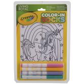 Unicorn Land Color-In Socks