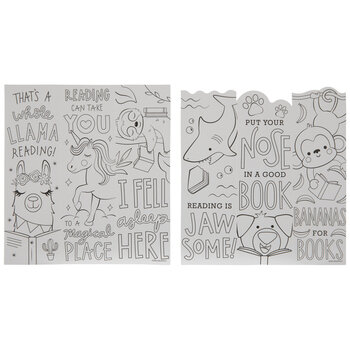 Animal Coloring Bookmarks