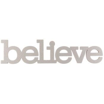 Believe Chipboard Decor