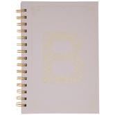 Pink & Gold Foil Letter Journal - B