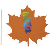 Leaf Scratch Art Kit