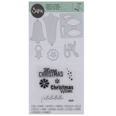 Sizzix Framelits Silver Bells Dies & Stamps