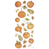 Harvest Pumpkins Stickers