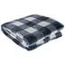 Navy Buffalo Check Throw Blanket