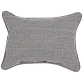 Light Gray Heather Woven Pillow