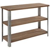 Three-Tiered Wood Shelf