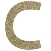 Glitter Wood Letter