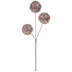 Rose Gold Frosted Ball Pick
