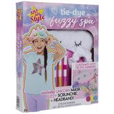 Tie-Dye Fuzzy Spa Set