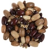Earth Multi Oval Wood Beads