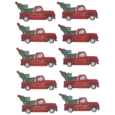 Merry Christmas Trucks 3D Stickers