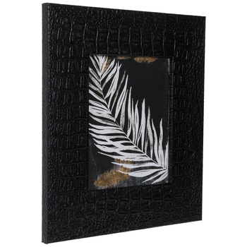 Fern & Reptile Print Framed Wall Decor