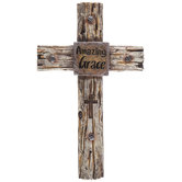 Amazing Grace Western Wall Cross