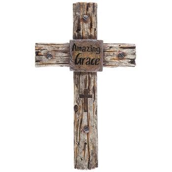 Amazing Grace Western Wall Cross