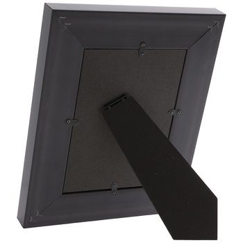 Black & Silver Beveled Patina Frame