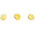 Light Topaz Shimmer Round Beads - 4mm