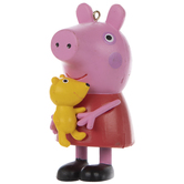 Peppa Pig Holding Bear Ornament
