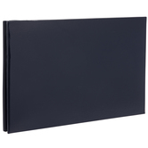 """Navy Vinyl Post Bound Scrapbook Album - 5"""" x 7"""""""