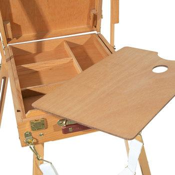 Wood Sketch Box Easel