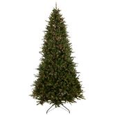 Fast Shape Montana Fir Pre-Lit Christmas Tree - 9'