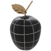 Black Checkered Apple