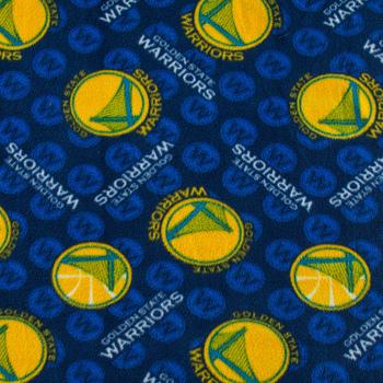 NBA Golden State Fleece Fabric
