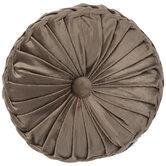 Velvet Round Pintuck Pillow