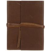 Brown Leather Wrap Sketchbook