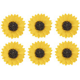 Yellow Sunflower Stickers