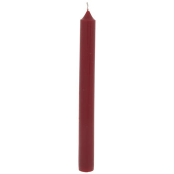 """Red Taper Candle - 8"""""""