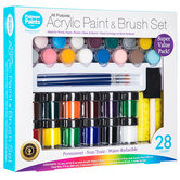 Acrylic Paint - 28 Piece Set